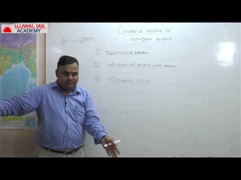 Ancient History Of India - Decline of Mauryan Empire in Hindi UPSC/CSE Part 2 By Kumar Ujjwal