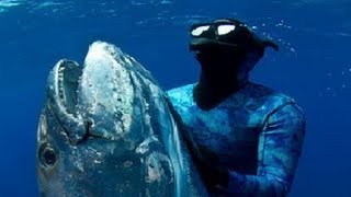 ★ Extreme Blue water Spearfishing ★ Zanzibar and Latham Island by Eric Allard and Barret Harvey