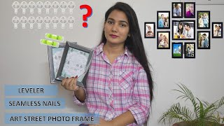 How to hang photo frames   Installation   Seamless nails   Amazon screenshot 5