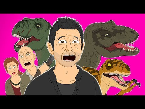 ♪ JURASSIC PARK 2 THE LOST WORLD THE MUSICAL - Animated Parody Song