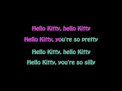 Avril Lavigne - Hello Kitty Karaoke With back vocal