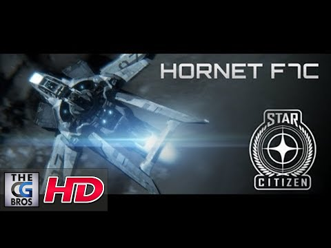 "CGI Animated Trailer : ""Anvil Aerospace Hornet F7C""  from Roberts Space Industries"