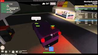 Riding with the resistance crew *COPS* (Roblox)