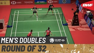 YONEX Thailand Open | Day 1: Ivanov/Sozonov (RUS) vs. Lane/Vendy (ENG)