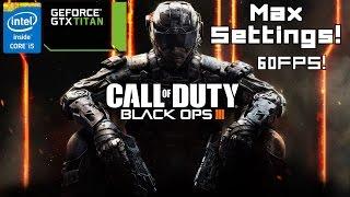 Call of Duty: Black Ops III Titan X Ultra Settings Gameplay