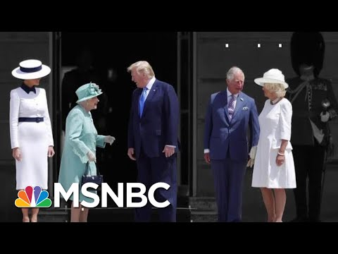 Trump Attacks London's Mayor Just Before Landing In UK For A State Visit | The 11th Hour | MSNBC