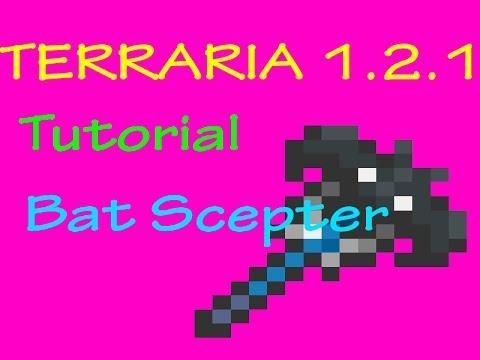 Bat Scepter Tutorial [TERRARIA 1.2.1 TUTORIAL] ASMR SMACKING LIPS
