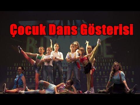 ÇOCUK DANSLARI - Latino Dans Stüdyosu - 2015 Yılsonu Gösterisi - Çocuk Dans Kursu