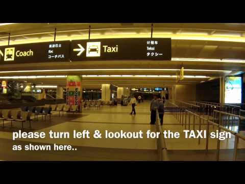 Where is Terminal 2 Taxi Stand in Singapore Changi Airport?