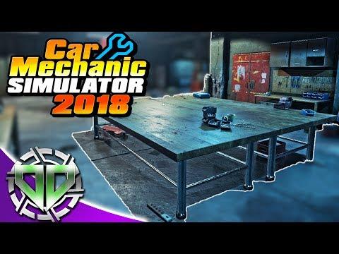 Car Mechanic Simulator 2018 :  Repair Table & Mazda RX7! (PC)