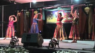Madhura Meenakshi-dance by Siri, Afnan, Ramya & Keerthana - Festival of Lights Ireland 2010