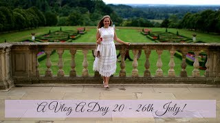 Staying at Cliveden House with Aston Martin | A Vlog A Day 20 | 26th July | Katie KALANCHOE