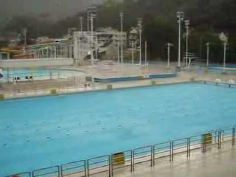 Outdoor Public Swimming Pool In Tai Po Hong Kong Youtube