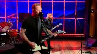 "Metallica Perform ""Sad But True"" at Craig Ferguson (2014-11-21)"