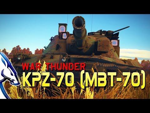 War Thunder: KPz-70 (MBT-70) Impressions