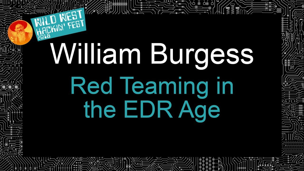 Download Red Teaming in the EDR age