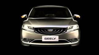 Появились первые фото нового седана Geely GС9