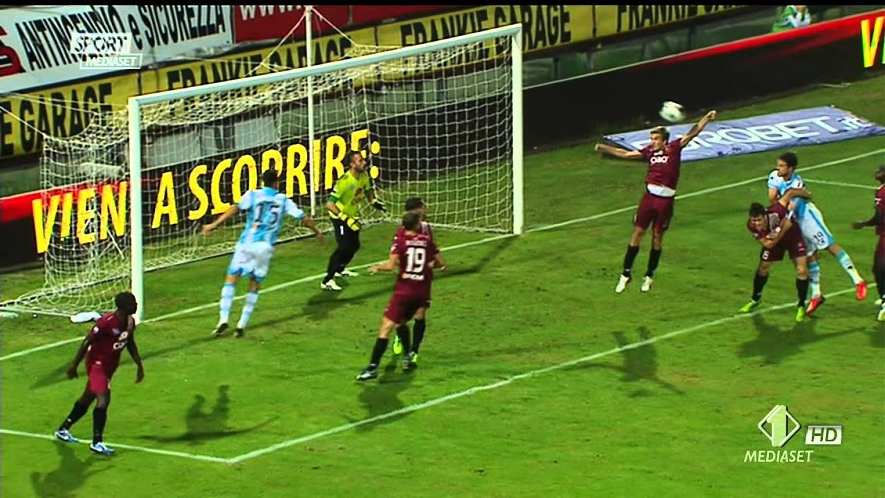 Reggina 2-3 Pescara Highlights & gol HD 25-10-2013 - YouTube