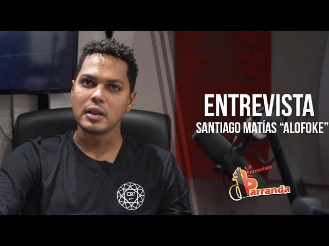 """Santiago Matías """"Alofoke"""" habla de su preferencia sexual y declara a El Alfa como urbano del año"""