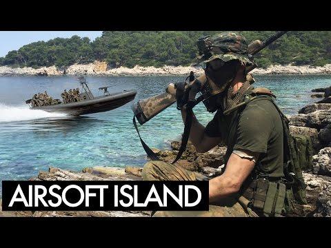 Island Airsoft Sniper Gameplay - Part 1