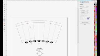 Using the Arch Tool in Corel Draw for Curved Templates (Latte Mug or Shot Glass) -