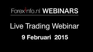 Live Trading Webinar 9 Februari 2016