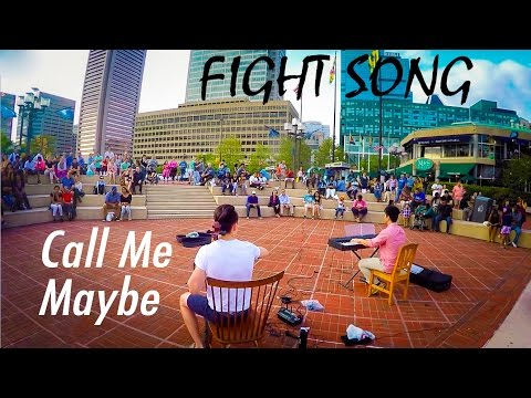 Fight Song/Call Me Maybe/Taking Over Me (Cello/Piano mashup) - eyeglasses