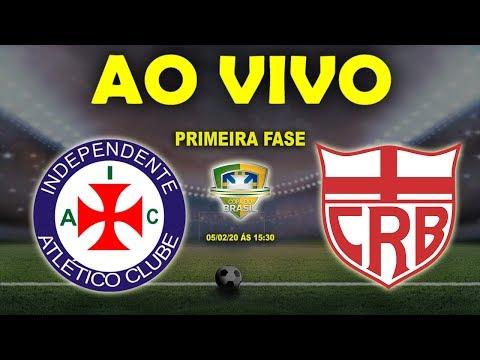 Independente-PA x CRB Ao Vivo | Copa do Brasil 2020 | Primeira Fase