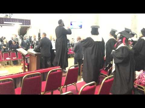 Called unto holiness- choir procession.  Bethel United church of Jesus Christ apostolic