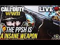 Call Of Duty WW2 Live Commentary (The PPSH Is A Insane Weapon)