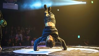 Bboy Haslah vs Bboy Leon- Red Bull BC One Asian Pacific Final 2015