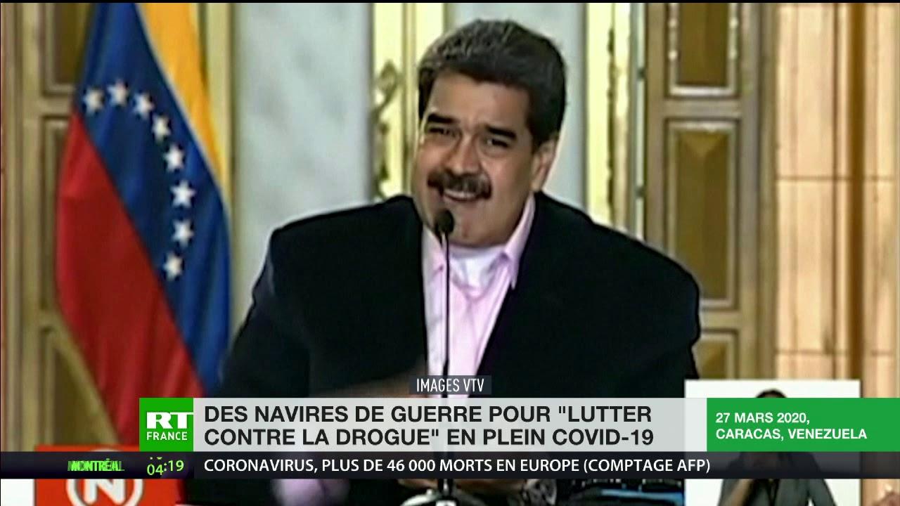 Un déploiement militaire dans la mer des Caraïbes irrite le Venezuela