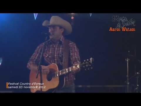 Aaron Watson (3/3) au Festival Country d'Evreux (Eure) samedi 03 novembre 2012
