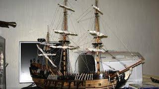 """Корабль """"Чёрная Жемчужина"""" собран! / Ship Black Pearl"""