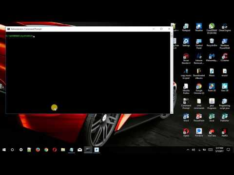 How to remove virus on Windows 10 CMD