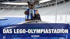 Das Olympiastadion aus Lego - Joe Bryant - Hertha BSC