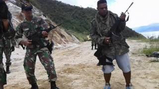 Lifesing Tentara Ganteng Papua Nabire