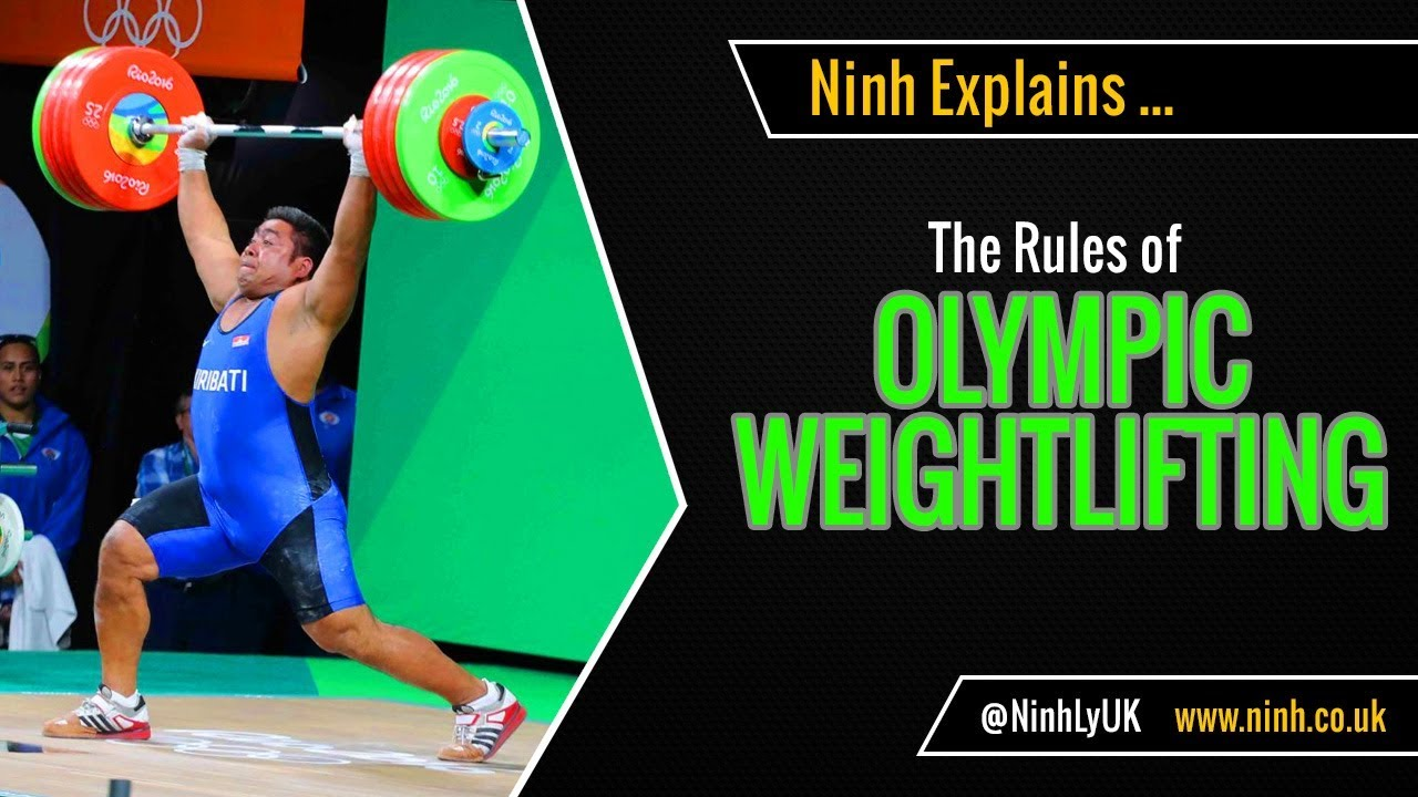 The Rules of Olympic Weightlifting - EXPLAINED!