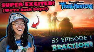 THE FINAL CHAPTER BEGINS Trollhunters S3 Episode 1 REACTION TIMER