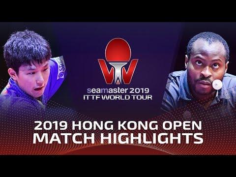 Tomokazu Harimoto vs Aruna Quadri | 2019 ITTF Hong Kong Open Highlights (R16)