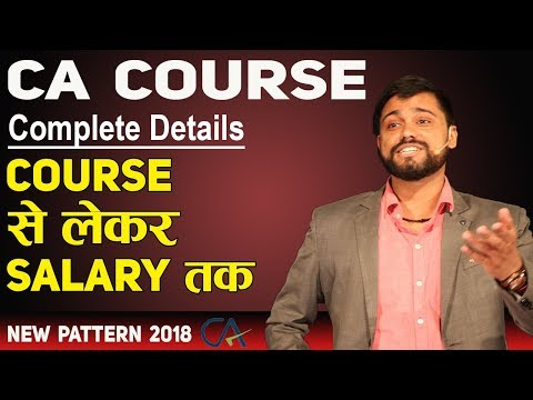CA Foundation Course Syllabus || CA Course Complete Details - Salary, Fees || How to Become CA