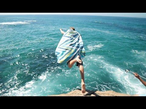 Cliff Jumping Newport Beach