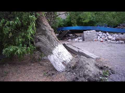 01 07 2018 Зеленокумск ураган