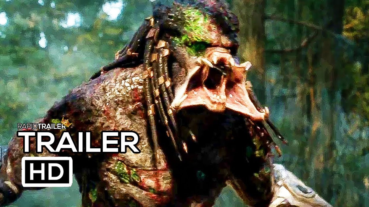 Download THE PREDATOR Final Trailer (2018) Horror Movie HD