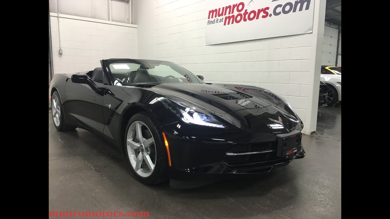 Chevy Extended Warranty >> 2014 Chevrolet Corvette Stingray SOLD Convertible 7 Speed Low Kms GMPP to 2021 Munro Motors ...
