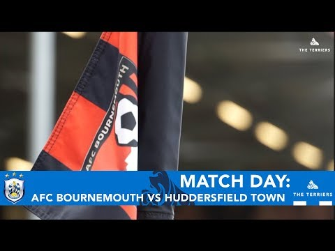 MATCH DAY: AFC Bournemouth vs Huddersfield Town
