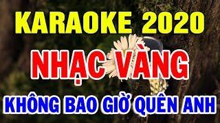 Karaoke Nhạc Vàng Bolero Trữ Tình Hòa Tấu | Liên khúc Nhạc Sống LK Yêu Lầm | Trọng Hiếu