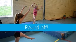 Round off | Working on flat hips & Leg swing!