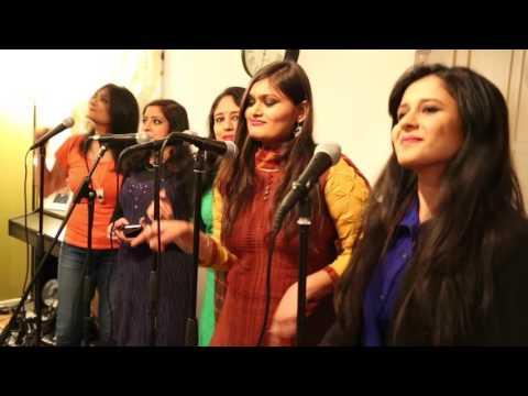 Badal Pe Paon Hai Uppsala Indian Choir cover