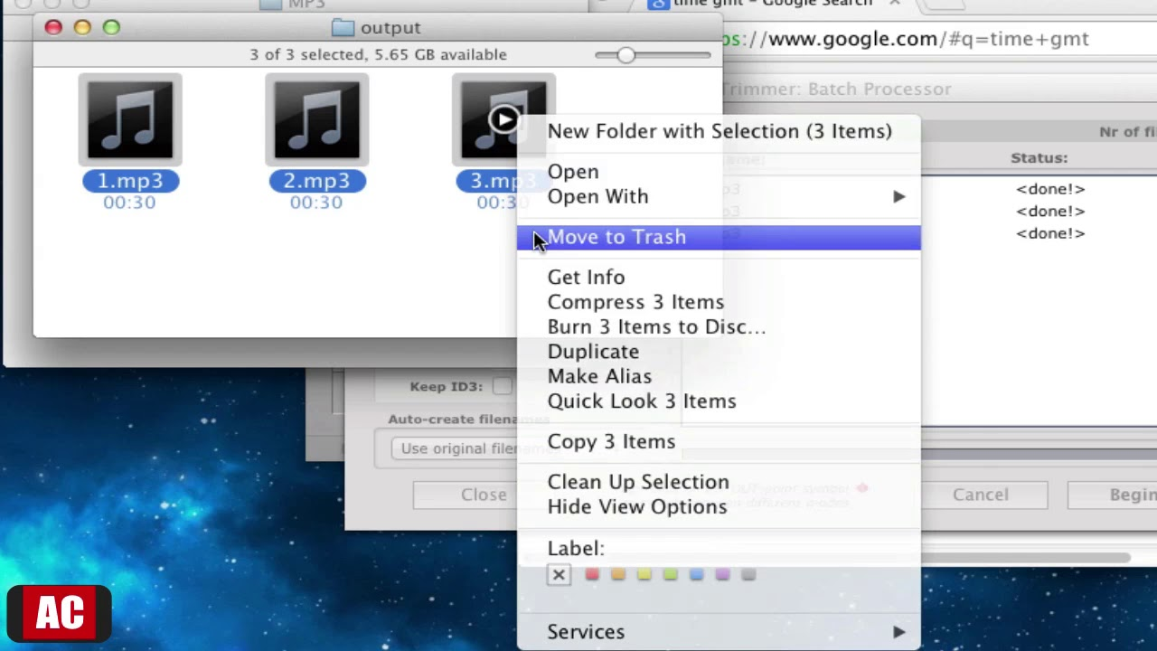 cleaning up mp3 files
